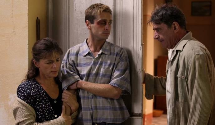 Mira Furlan (Lucija), Boris Ler (Martin Buntic) en Mario Knezovic (Pivac)