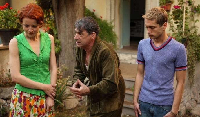 Jelena Stupljanin (Azra), Mario Knezovic (Pivac) en Boris Ler (Martin Buntic)