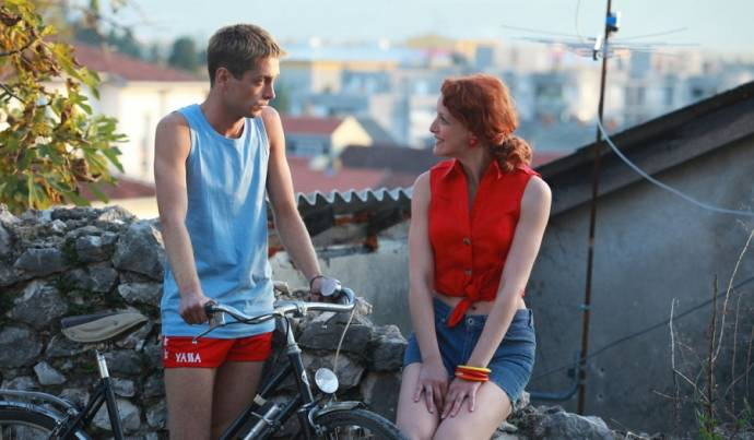 Boris Ler (Martin Buntic) en Jelena Stupljanin (Azra)