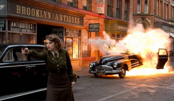 Hayley Atwell (Peggy Carter)