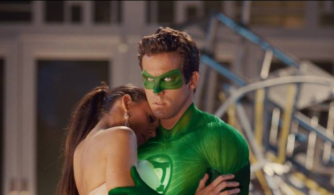 Blake Lively (Carol Ferris) en Ryan Reynolds (Hal Jordan / Green Lantern)