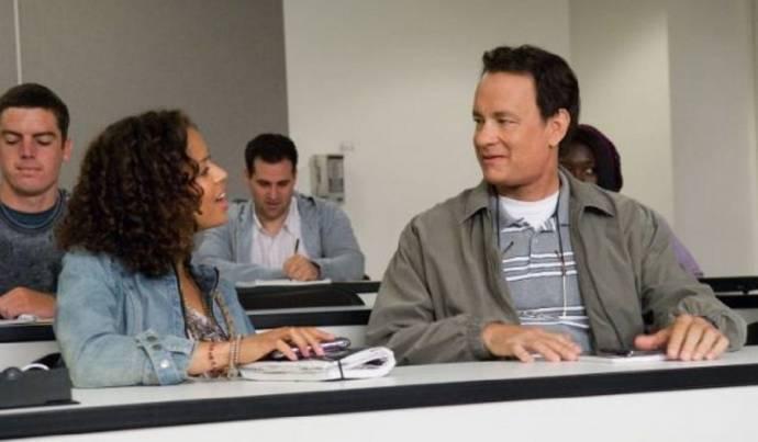 Gugu Mbatha-Raw en Tom Hanks (Larry Crowne)