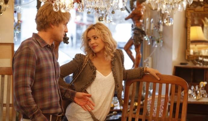 Owen Wilson (Gil) en Rachel McAdams (Inez)