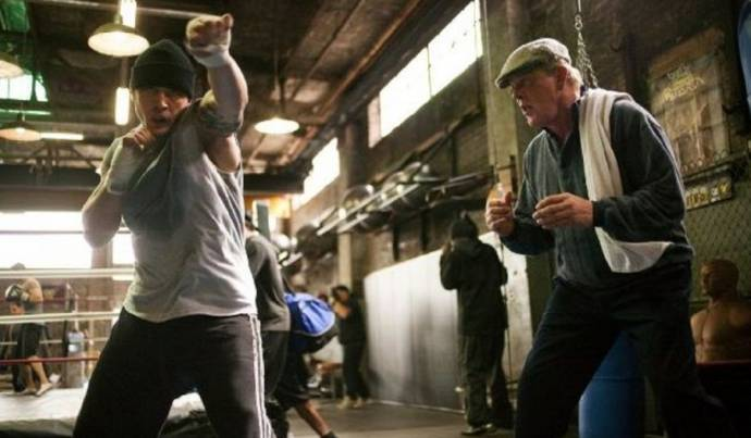 Tom Hardy (Tom Conlon) en Nick Nolte (Paddy Conlon)