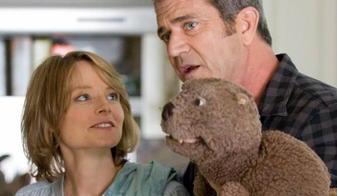 Jodie Foster (Meredith Black) en Mel Gibson (Walter Black)