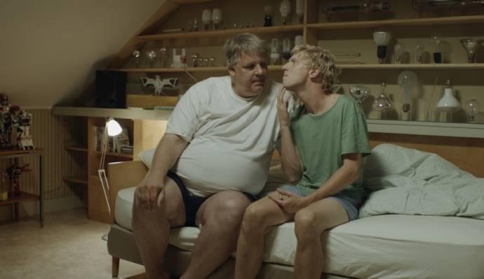 Jack Wouterse (Johan) en Joris Smit (Wubbe)