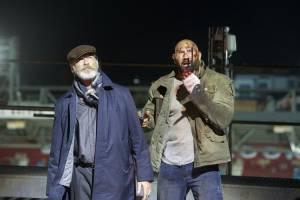 Final Score: Pierce Brosnan (Dimitri) en Dave Bautista (Michael Knox)