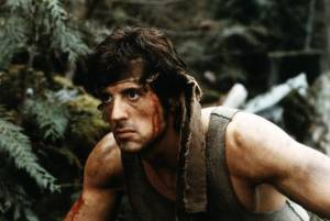 First Blood: Sylvester Stallone (John J. Rambo)