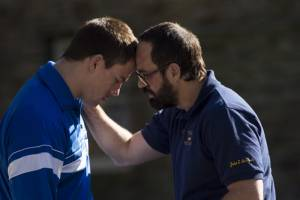 Foxcatcher: Channing Tatum (Mark Schultz) en Mark Ruffalo (David Schultz)