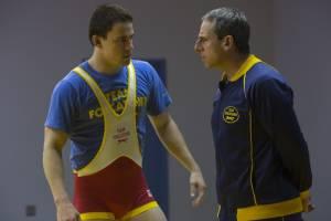 Foxcatcher: Channing Tatum (Mark Schultz) en Steve Carell (John du Pont)