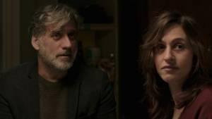 Foxtrot: Lior Ashkenazi (Michael Feldmann) en Sarah Adler (Daphna Feldmann)