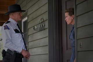 Woody Harrelson en Frances McDormand in Three Billboards Outside Ebbing, Missouri
