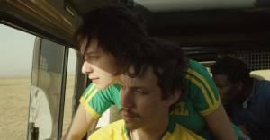 Gabriel e a montanha: Caroline Abras (Cristina) en João Pedro Zappa (Gabriel Buchmann)
