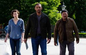 Mary Elizabeth Winstead (Danny Zakarweski), Will Smith (Henry Brogan / Junior) en Benedict Wong (Baron)
