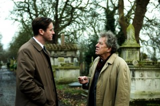 Armie Hammer en Geoffrey Rush in Final Portrait