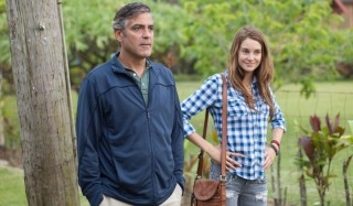 George Clooney en Shailene Woodley in The Descendants