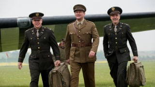 Matt Damon, Bill Murray en George Clooney in The Monuments Men