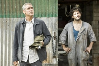 George Clooney en Filippo Timi in The American