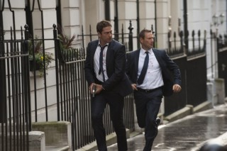 Gerard Butler en Aaron Eckhart in London Has Fallen