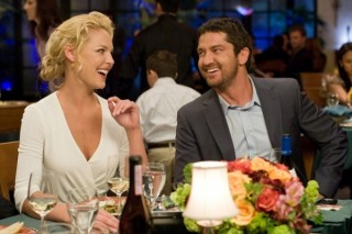 Gerard Butler en Katherine Heigl in The Ugly Truth
