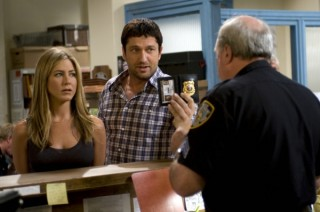 Jennifer Aniston en Gerard Butler in The Bounty Hunter