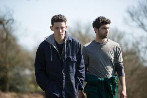 God's Own Country: Josh O'Connor (Johnny Saxby) en Alec Secareanu (Gheorghe Ionescu)