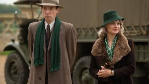 Goodbye Christopher Robin: Domhnall Gleeson (A.A. Milne) en Margot Robbie (Daphne Milne)
