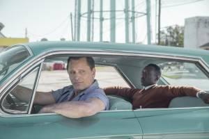 Green Book: Viggo Mortensen (Tony Lip) en Mahershala Ali (Don Shirley)