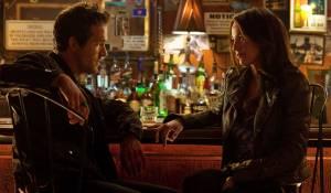 Ryan Reynolds (Hal Jordan / Green Lantern) en Blake Lively (Carol Ferris)