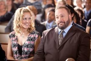 Grown Ups: Maria Bello (Sally Lamonsoff) en Kevin James (Eric Lamonsoff)