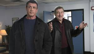 Grudge Match: Sylvester Stallone (Henry 'Razor' Sharp) en Robert De Niro (Billy 'The Kid' McDonnen)