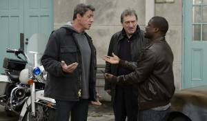 Grudge Match: Sylvester Stallone (Henry 'Razor' Sharp), Robert De Niro (Billy 'The Kid' McDonnen) en Kevin Hart (Dante Slate, Jr.)