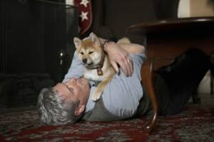 Hachiko: A Dog's Story: Richard Gere (Parker Wilson)