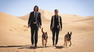 Keanu Reeves en Halle Berry in John Wick 3: Parabellum