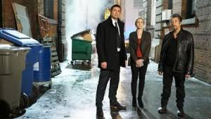 Hangman: Karl Urban (Detective Ruiney), Brittany Snow (Christi Davies) en Al Pacino (Detective Archer)