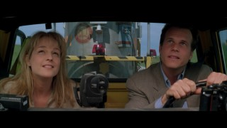 Helen Hunt en Bill Paxton in Twister
