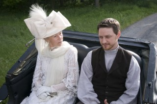 James McAvoy en Helen Mirren in The Last Station