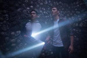 Hell Fest: Christian James (Quinn) en Matt Mercurio (Asher)