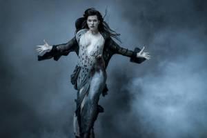 Milla Jovovich (Nimue the Blood Queen)
