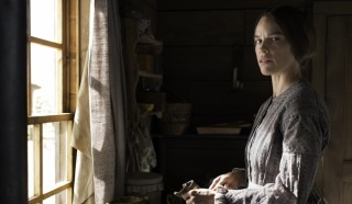 Hilary Swank in The Homesman