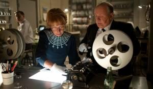 Helen Mirren (Alma Reville) en Anthony Hopkins (Alfred Hitchcock)
