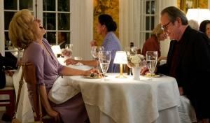 Hope Springs: Meryl Streep (Maeve Soames) en Tommy Lee Jones (Arnold Soames)