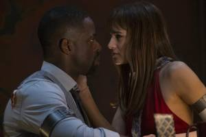 Hotel Artemis: Sterling K. Brown en Sofia Boutella