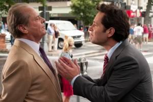 Jack Nicholson (Charles) en Paul Rudd (George)