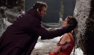 Hugh Jackman en Anne Hathaway in Les Misérables