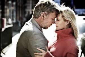 Mikael Persbrandt (Anton) en Trine Dyrholm (Marianne)