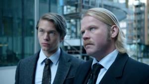 In Order Of Disappearance: Jakob Oftebro (Aron Horowitz) en Anders Baasmo Kristiansen (Geir)