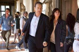 Inferno: Tom Hanks (Robert Langdon) en Felicity Jones (Dr. Sienna Brooks)