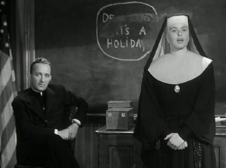 Ingrid Bergman en Bing Crosby in The Bells of St. Mary's