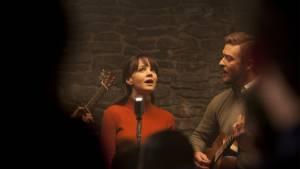 Inside Llewyn Davis: Carey Mulligan (Jean Berkey) en Justin Timberlake (Jim Berkey)